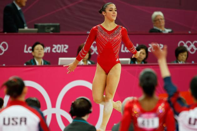 Women's Gymnastics 2012: Aly Raisman and the Top 5 Olympic Floor Routines