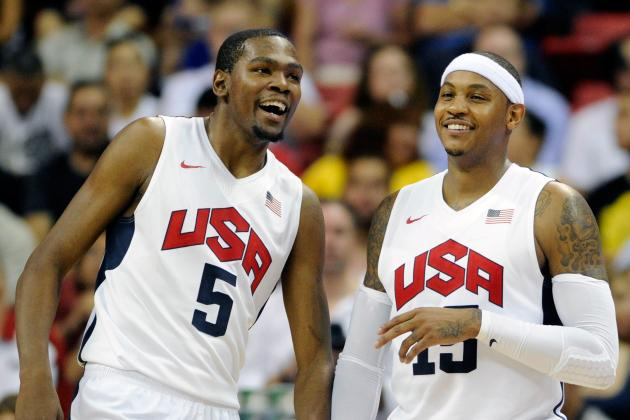 Team USA Basketball 2012: Highlighting Top 5 Players Thus Far
