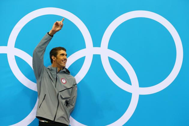Olympic Swimming: Power Ranking Michael Phelps' 18 Gold Medal Performances