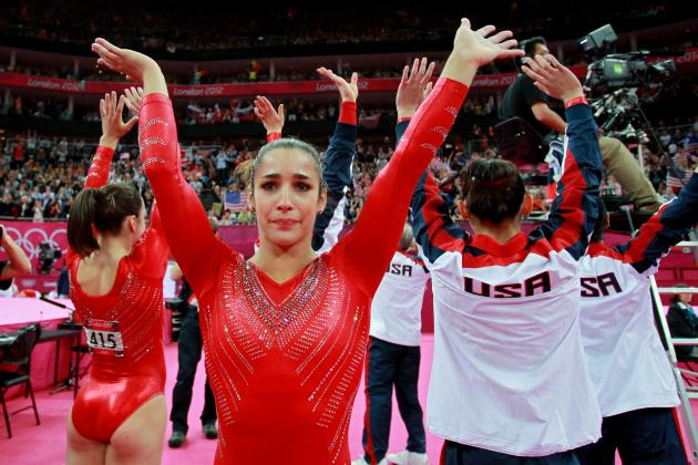USA Gymnastics: The Story of Aly Raisman's Olympic Games in 10 Photos