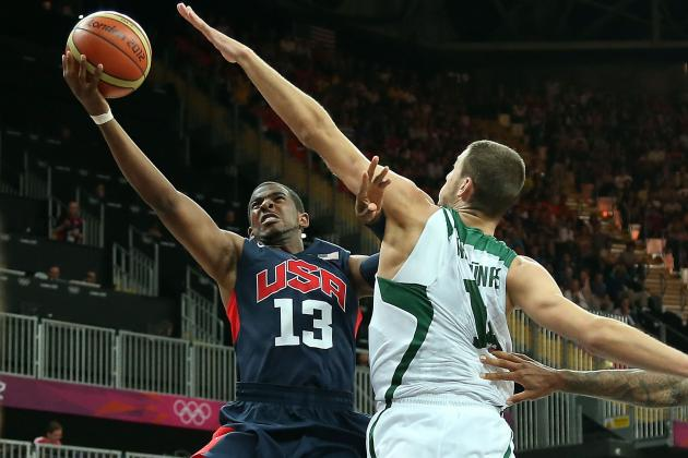 Olympic Basketball Results 2012: Most Dominant Performances from Day 8