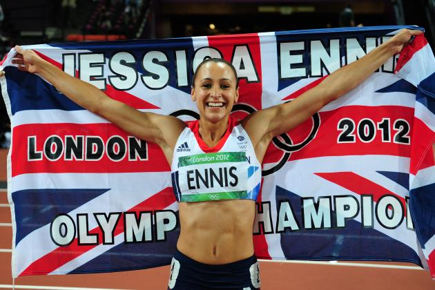 Olympic Track Results 2012: Jessica Ennis and Britain's Amazing Day of Gold