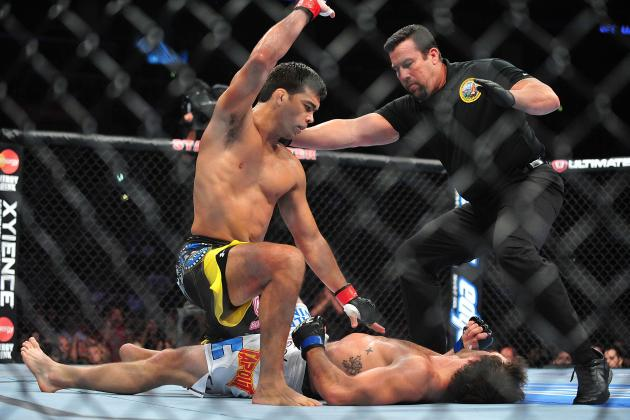 UFC on Fox 4 Results: How Lyoto Machida Stacks Up Against Jones and Henderson