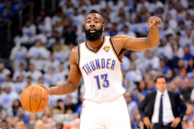 5 Big Improvements Oklahoma City Thunder's James Harden Must Make Next Season