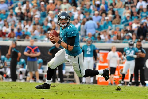 Blaine Gabbert and Training Camp Busts on Thin Ice