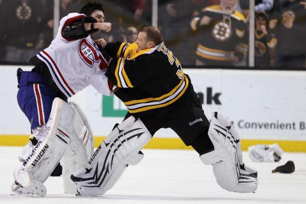 50 Most Entertaining Hockey Fights of All-Time