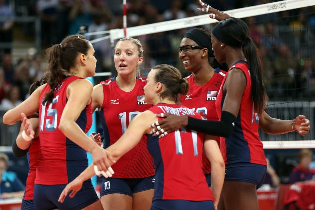 US Olympic Women's Indoor Volleyball Team 2012: The 5 MVPs in Pursuit of Gold