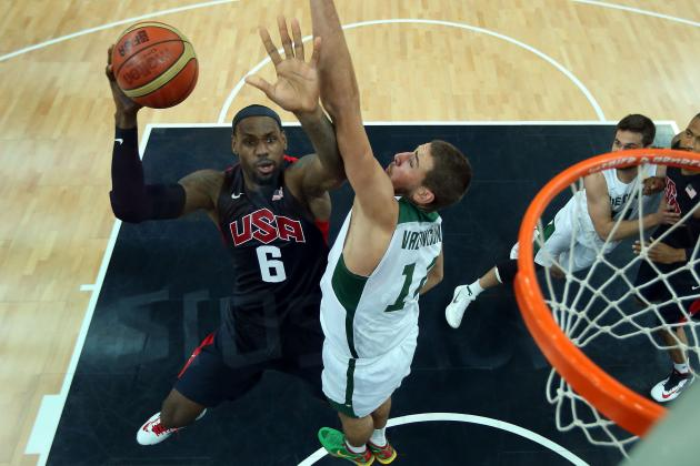 US Olympic Medal Count 2012: Team Sports Give USA Edge over China
