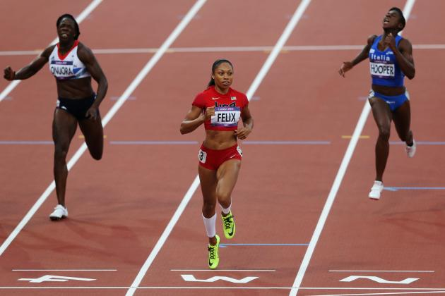 Olympic Track 2012: Allyson Felix and Gold-Medal Odds in Women's 200M Dash
