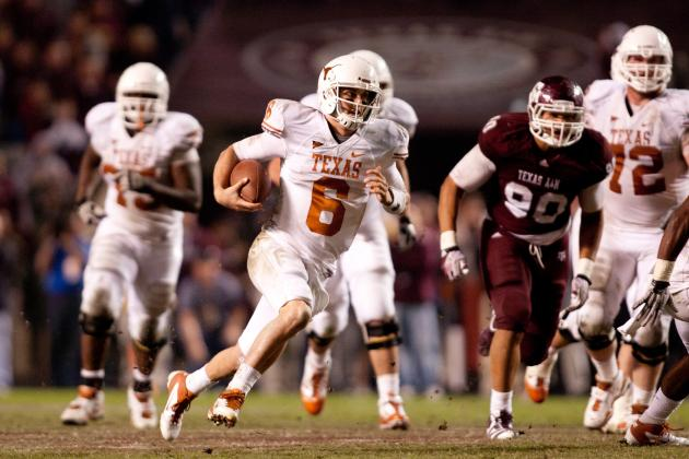 Texas Football: Analyzing Pros and Cons of  Starting Case McCoy