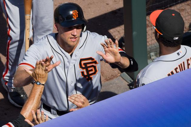 San Francisco Giants: Grading Each Aspect of Hunter Pence's Game so Far