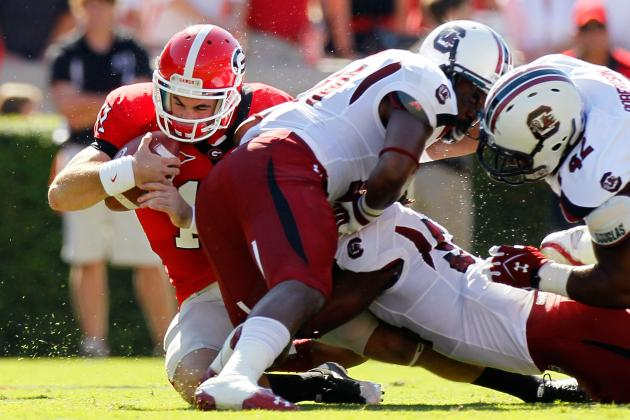 SEC Football: Ranking the East Division Schedules