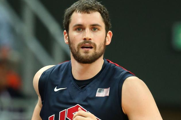 Team USA Basketball: Why Kevin Love Is Key to Victory over Brazil