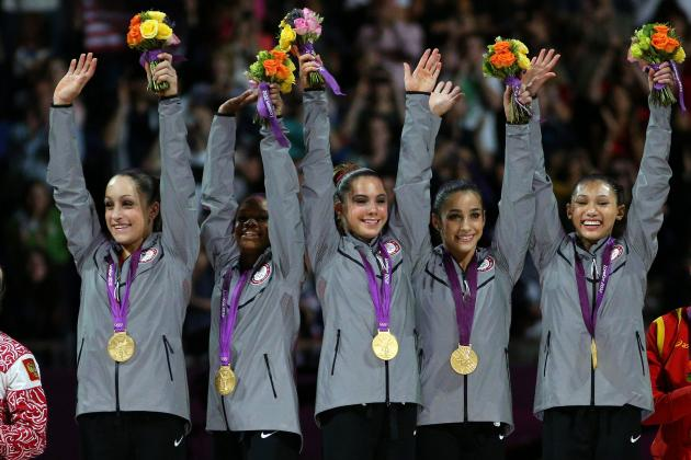 US Olympic Women's Gymnastics Team 2012: Final Grades for Fab Five