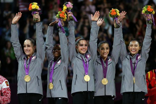 US Olympic Women's Gymnastics Team 2012: Final Grades for Fab Five