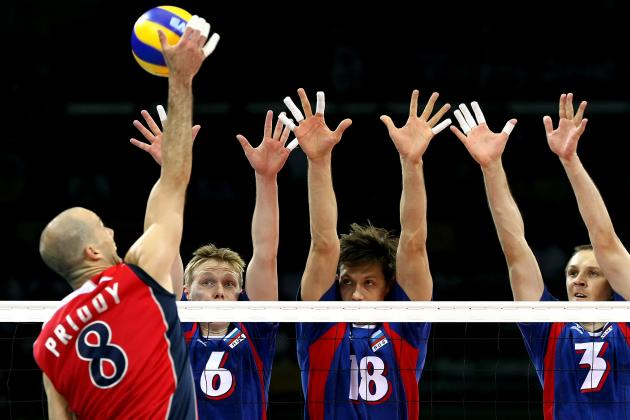 Olympic Volleyball 2012: Predicting Which Men's Teams Advance to Semifinals