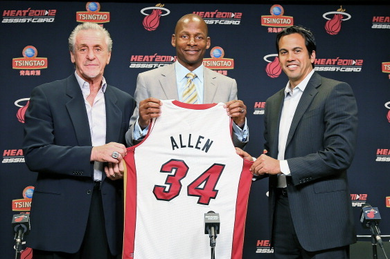 4 Plays Ray Allen Will Run to Perfection with the Miami Heat