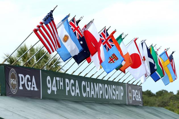 PGA Championship Odds 2012: Latest Odds for PGA's Top Ranked Players