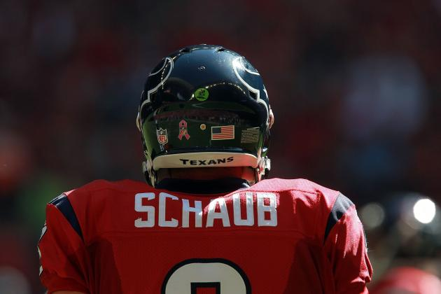 Houston Texans: 7 Things Matt Schaub Must Do to Be a Top 5 QB in 2012