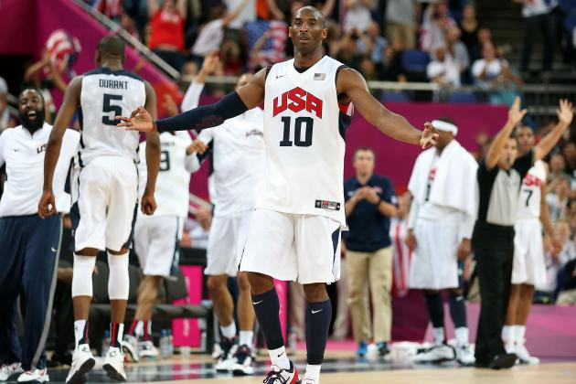 Olympic Basketball Highlights 2012: Kobe Bryant by the Numbers