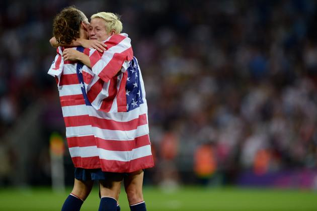 USA vs. Japan: Best Photos from Women's Olympic Soccer Gold Medal Match