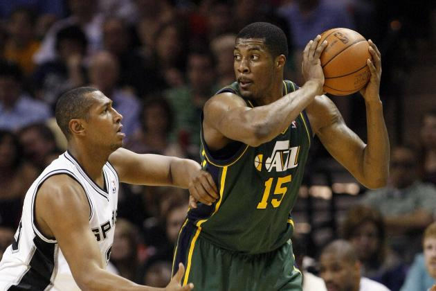 Predicting the Utah Jazz Rotation for 2012-13