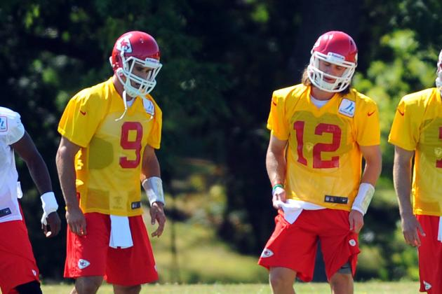 Ricky Stanzi, Brady Quinn and 8 Chiefs Players to Watch Tonight Against Arizona