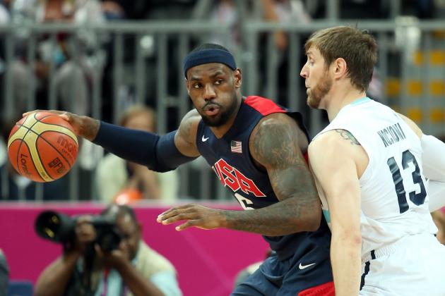 USA vs. Argentina: Winners and Losers from 2012 Olympics Basketball Semifinals