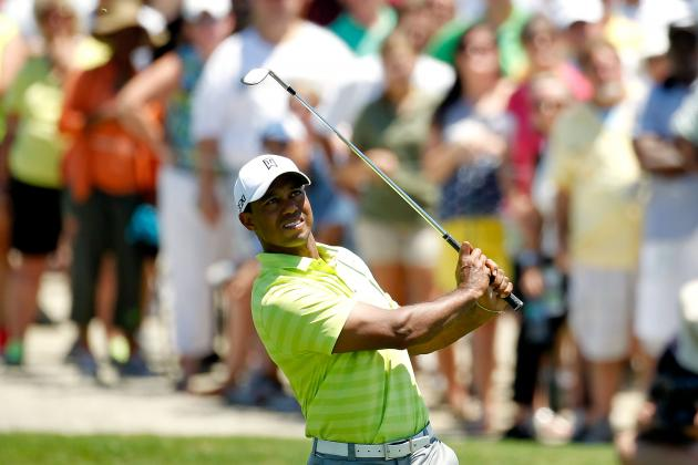 Tiger Woods: Bold Predictions for Weekend at Kiawah Island