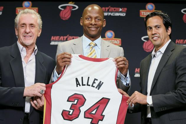Ray Allen and 4 NBA Veterans Who Will Disappoint Their New Team