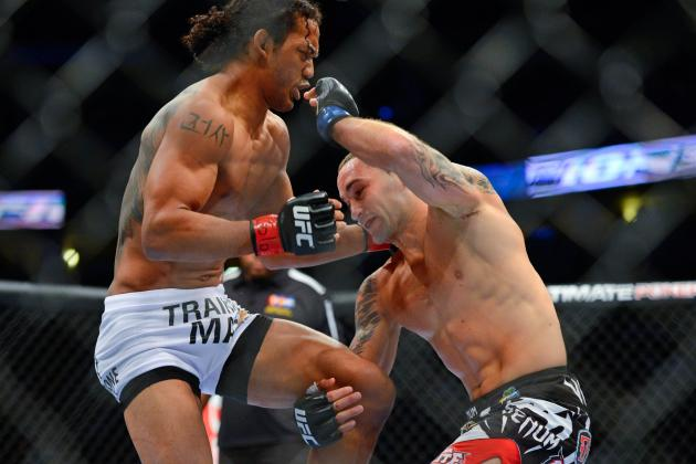 UFC 150 Results: Most Memorable Moments from Henderson vs. Edgar II