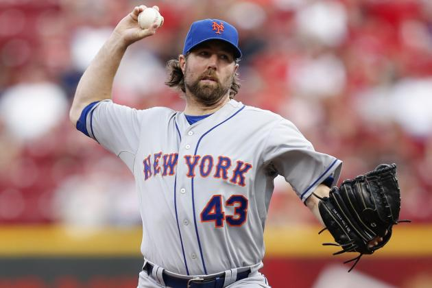 4 Tough Series That Could Derail R.A. Dickey's Cy Young Campaign