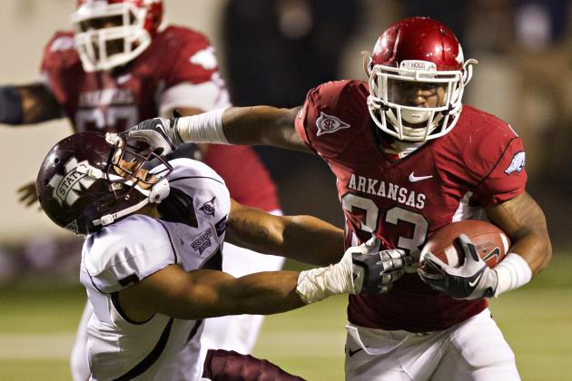 Arkansas Football: What You Need to Know About Razorbacks RB Dennis Johnson