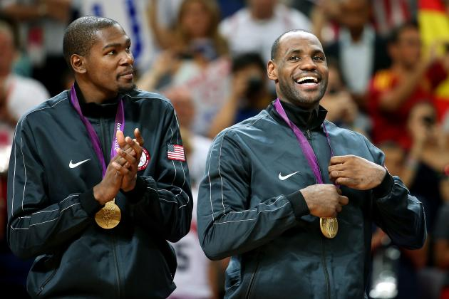 9 Most Impressive Basketball Stars of the 2012 Olympics