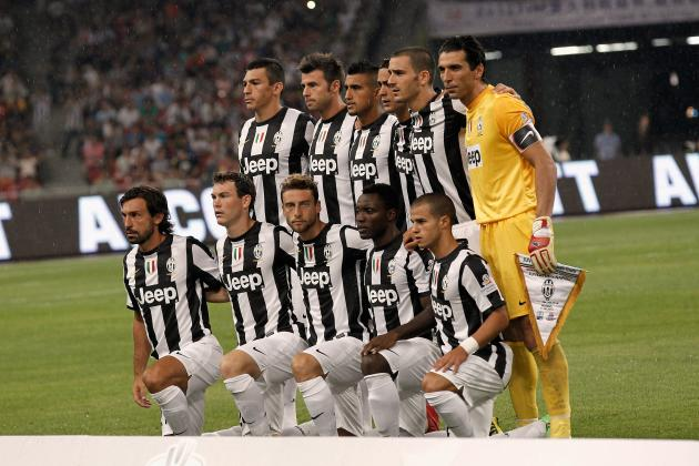 Juventus: Predicting Starting XI for the New Serie A Season