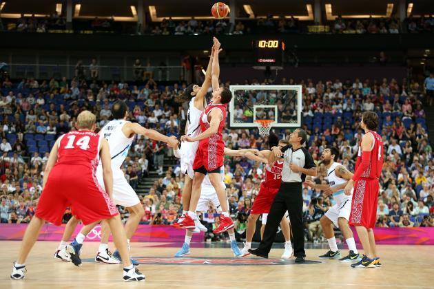 London 2012 Basketball: Russia vs. Argentina Full Grades for Top Stars