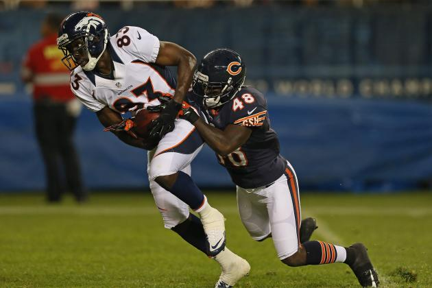 Denver Broncos: Ranking the Receivers After Thomas and Decker