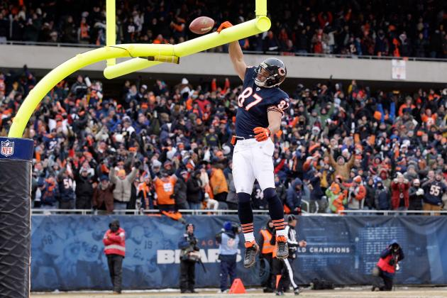 Chicago Bears: Which TEs Will Benefit Most from Mike Tice's New Offense?