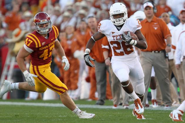 Texas Football: What You Need to Know About Longhorns RB Depth
