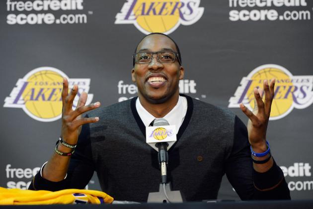 Dwight Howard, LA Lakers Shake Up the NBA: 2012-13 Win-Loss Predictions