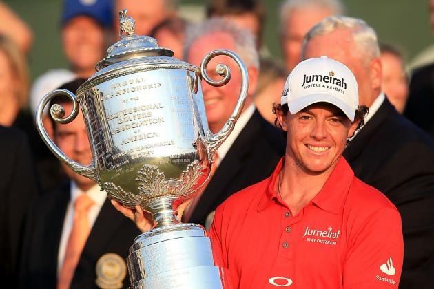 PGA Championship 2012 Results: Rory McIlroy Through the Tournament