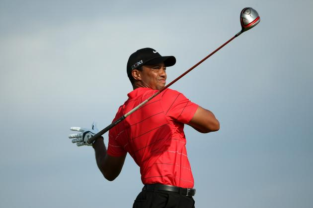 PGA Championship 2012: 5 Holes Where It All Went Wrong for Tiger Woods