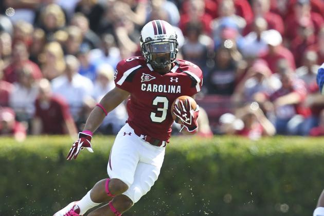 South Carolina Football: WR Play Will Greatly Impact Gamecocks' SEC Chances
