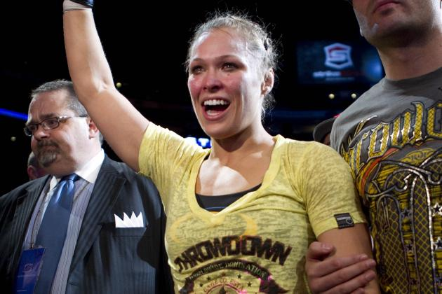 Ronda Rousey vs. Sarah Kaufman: Hot Topics Ahead of Strikeforce