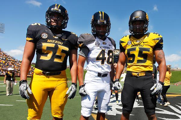Missouri Football Uniforms: Check out the Tigers' New Nike Pro Combat Design