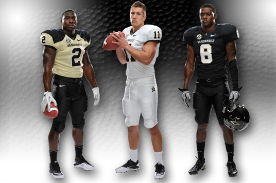 Vanderbilt Football Uniforms: Check out the Commodores' New 2012 Design