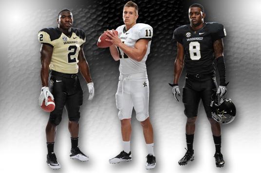 Vanderbilt Football Uniforms: Check out the Commodores' New 2012 Design