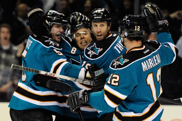 San Jose Sharks: Predicting the 2012-13 Starting Lines on Offense