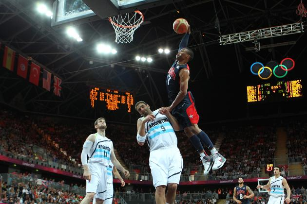 Team USA Basketball 2012: Top 5 Dunks of Summer Olympics