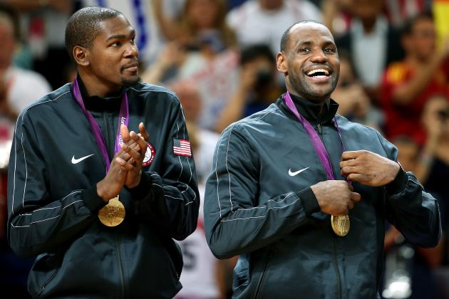 London 2012 Basketball: NBA Olympians Who Will Have the Best 2012-13 Seasons